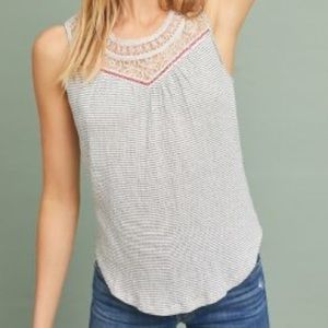 Anthropologie Suite Lace Top - Size M